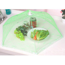 A0421 Hexagon Gauze Food Cover Umbrella Style Picnic Anti Fly Mosquito Net Tent Meal Cover Table Mesh Food Cover Kitchen Tools
