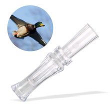 Duck Calls Hunting Accessories Plastic Duck Hunting Call Whistle with Single Reed for Outdoor Hunting Game Calls Hunting Gear цена
