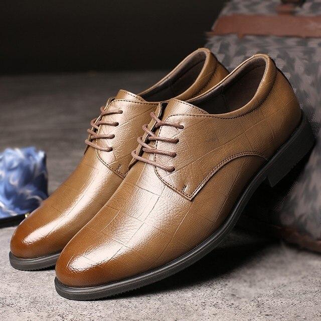 Perimedes Leather Dress Shoes for Men - Non-slip 4
