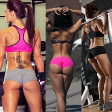 Soft Sexy Ladies Women Sports Shorts Girls Yoga Skinny Shorts Gym Training Exercise Workout Underwear Wholesale