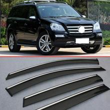 Для Benz GL400 GL450 GL500 GL550 2010-2012 оконный ветровой Дефлектор козырек Дождь/Защита от солнца вентиляционное отверстие