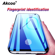 Akcoo S10 Plus screen protector with Fingerprint unlock for Samsung Galaxy front film S10e back Soft TPU cases