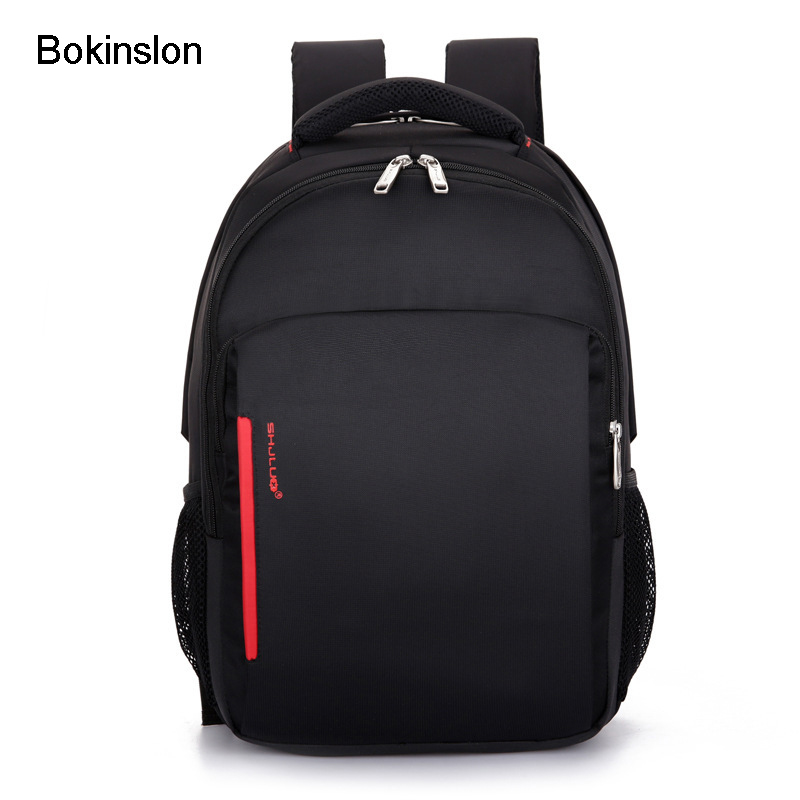 Bokinslon Practical Backpack Men Brand Casual Nylon Fashion Luxury Men's Backpack Computer School Backpack Bag Men
