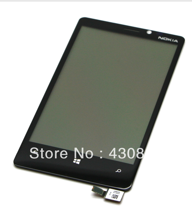 100% Guarantee Original For Nokia Lumia 920 LCD With Touch Screen Digitizer + Frame Assembly With Frame Full Set Free Shipping license php