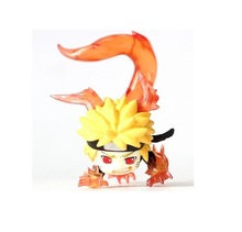 8cm Anime Naruto Shippuden . Mini PVC Action Figure Collection Model Kids Toys Doll