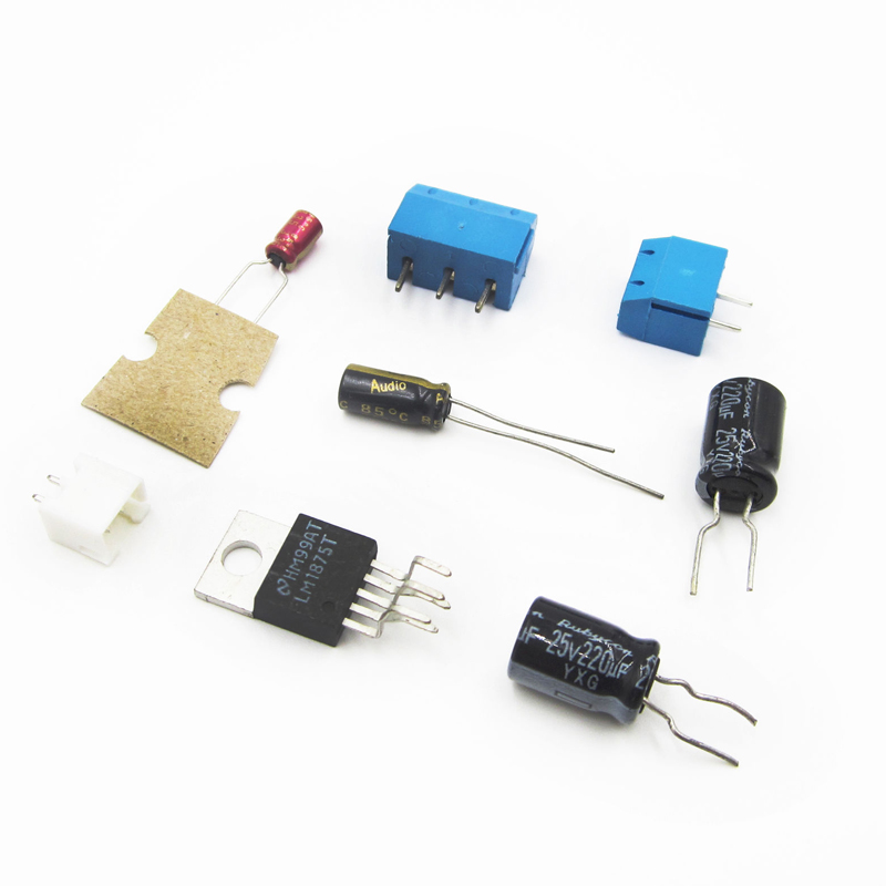 US $1 89 40% OFF|20W HIFI Mono Channel LM1875T Stereo Audio Amplifier Board  Module DIY Kit-in MP3 Players & Amplifier Accessories from Consumer
