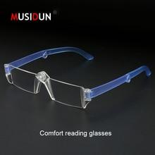 Fashion Anti-fatigue Folding Reading Glasses Man Woman Ultralight Presbyopic Eyeglasses Diopter +1.0+1.5+2.0+2.5+3.0+3.5 Q155