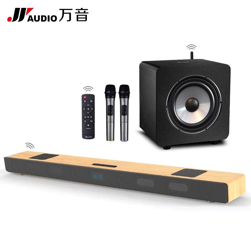 A9K+WS9 Karaoke Home Theatre System KTV Wireless Soundbar Bluetooth ...