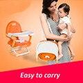 Многофункциональный детские стулья для столовой сиденья портативный складной ребенок дети детские стулья для столовой обеденный стол