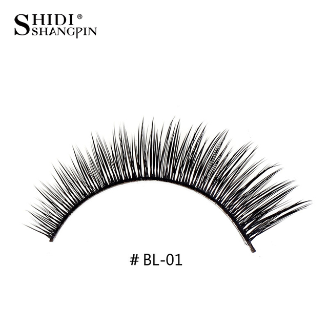 f6b3733ee35 Fake eyelash extension eye lashes BL01 cilios make up maquillage tools  thick false eyelashes sexy hand made fake eye lashes