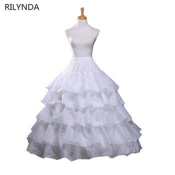 524107135 Venta caliente 4 aros vestido de fiesta enaguas para vestido de boda  accesorios de falda de boda enaguas de novia