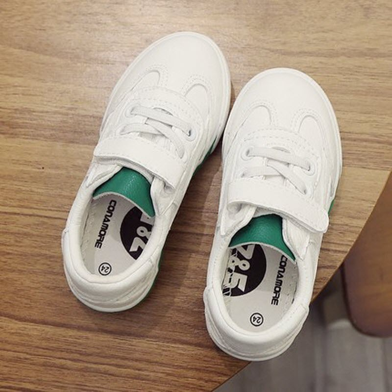 Free shipping Children shoes infantil infant boy White shoes girl casual PU Leather sneakers School sports Running Toddler shoes baby girl prewalker shoes infant girl mikey sneakers mouse flower pink soft sole pram shoes sapato infantil menina zapatos bebes