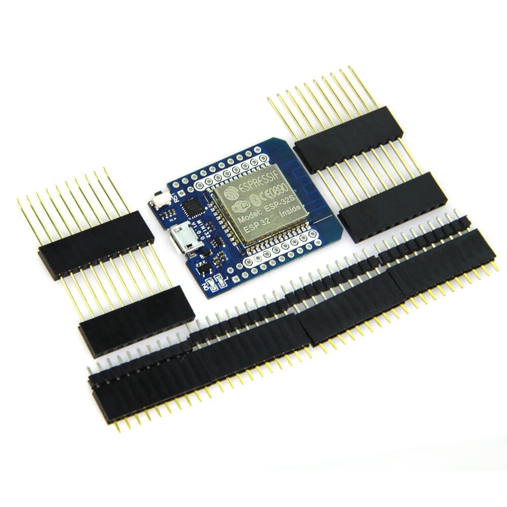 MINI D1 ESP32 WiFi Module Bluetooth development board Blue module xilinx xc3s500e spartan 3e fpga development evaluation board lcd1602 lcd12864 12 module open3s500e package b