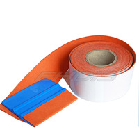Free Shipping High Quality Squeegee Suede Felt Edge With Size 5cmx500cm