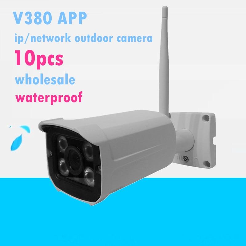HD Mini P2P IP bullet Camera Wireless Wifi support memory msd card Free APP Security outdoor waterproof