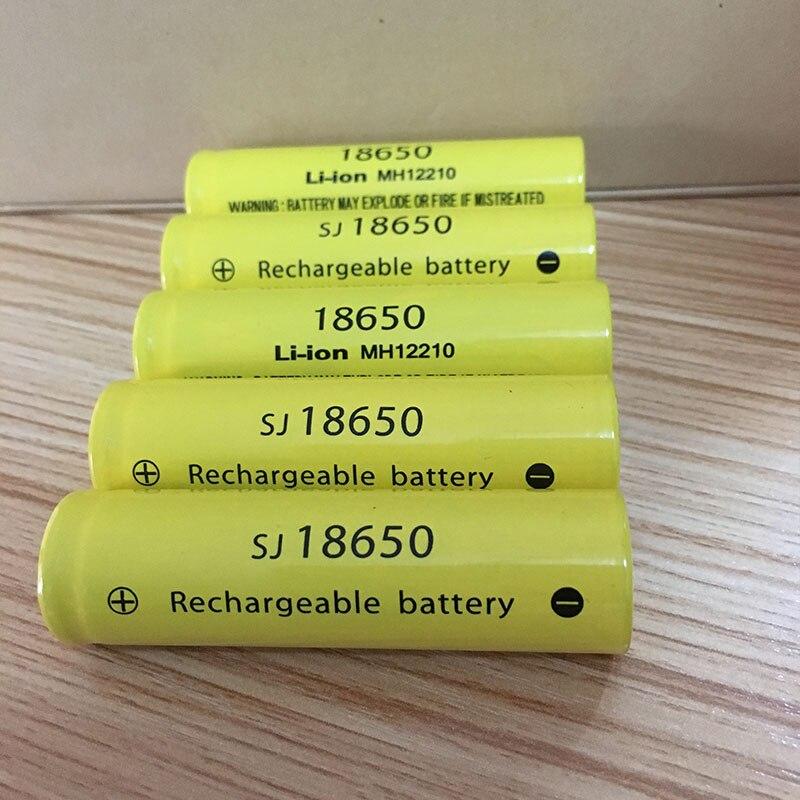 Ding Ли Ши Цзя XH 12 шт. 18650 батареи 3.7 В 9900 мАч Высокая емкость литий-ионный Перезаряжаемые Батарея для фонарик литиевая батарея