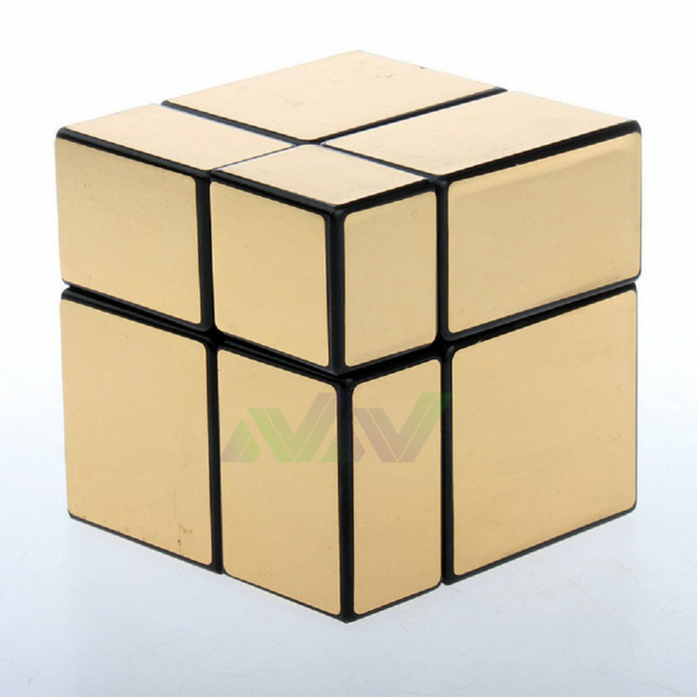 NewNew Arrival Mirror Cube 2x2x2 57mm Puzzle Magic Cubes Brain Teaser Toys Free Shipping