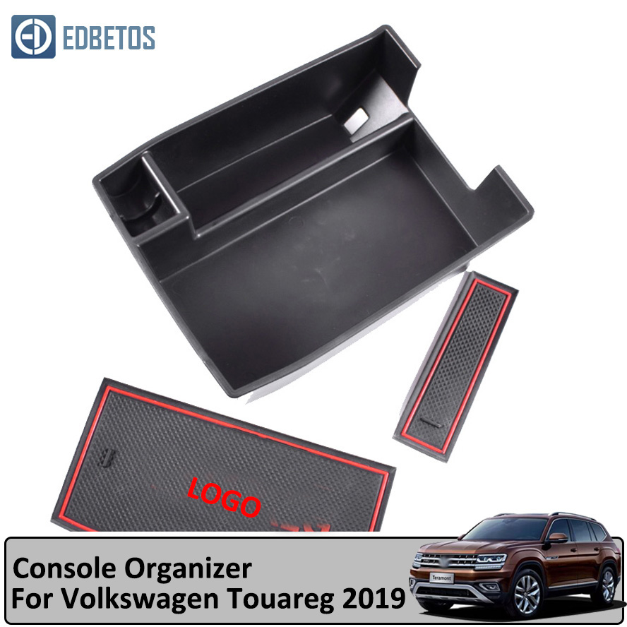 Central Console Armrest Storage Box Container For Teramont 2017 2018