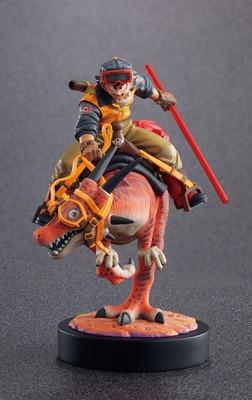 Cartoon Dragon Ball Z Action Figure Goku Riding Vinyl Figure Hot Toys 15cm Anime Figure Kid Gift Free Shipping