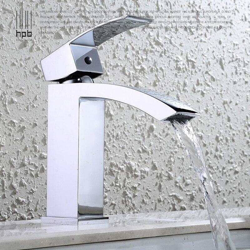 Wuhan медь одно отверстие холодной Водопад кран умывальник бассейна ведущих личности