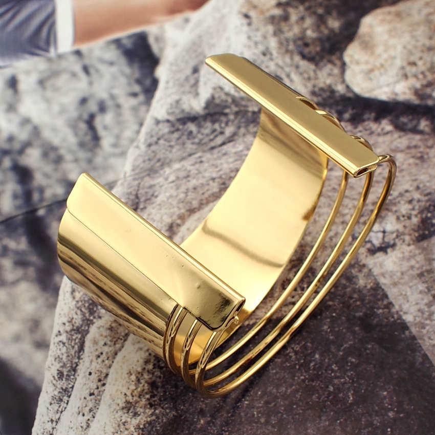 Graceful women cuff bangles fashion accessories 5