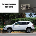 Thehotcakes Car Rear View Camera For Jeep Compass 2011~2015 / Reverse Camera / HD CCD RCA NTST PAL / License Plate Lamp OEM