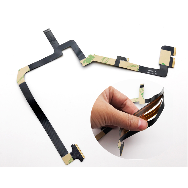 10 Pcs/Lot,Three 3 Layer Floor May Flexible Gimbal Camera Flat Ribbon Flex Cable For DJI Phantom 4 Replacement Parts For DJI-in Mobile Phone Flex Cables from Cellphones & Telecommunications