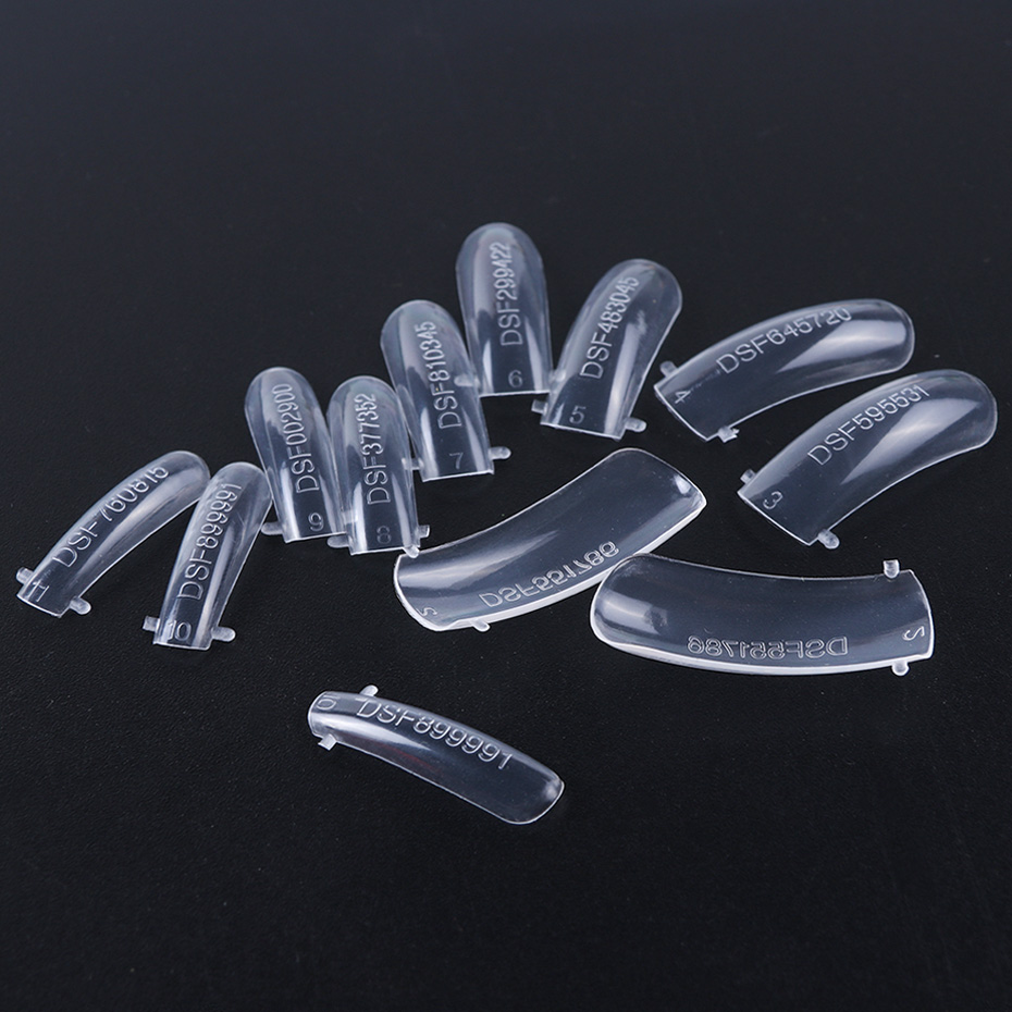 24pc Quick Building Nail Forms Finger Extension Mold Builder Acrylic UV Poly Gel Polish Tips Tool False Nail DIY Manicure LA1020 (6)