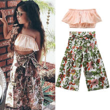f84d1b17ab680 Popular Bandeau Top and Pants Set-Buy Cheap Bandeau Top and Pants ...
