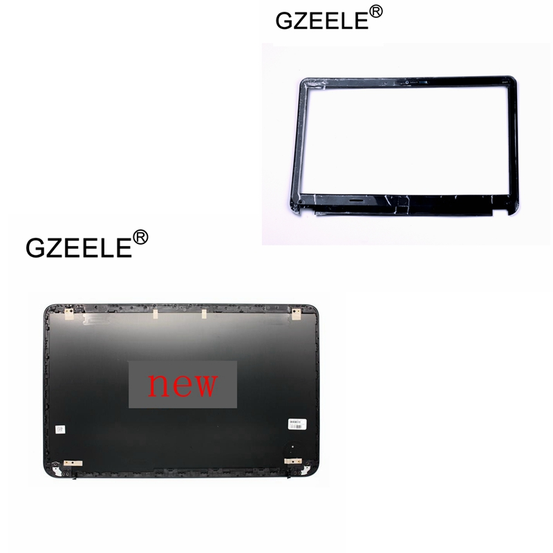GZEELE New LCD Back Cover Case & Front Bezel for HP Pavilion Envy6 Envy6-1000 Envy 6-1000 Top Back Rear cove / Front Bezel shell gzeele new laptop for hp for envy17 envy 17 j 17 j000 series 17laptop lcd screen bezel touch version b shell