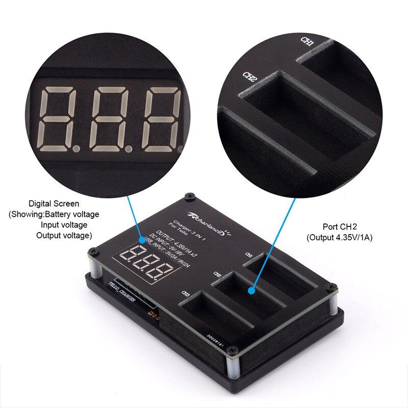 2ks DJI tello Baterie tello Lipo letová baterie + 3 cestné rychlé - Videokamery a fotoaparáty - Fotografie 6