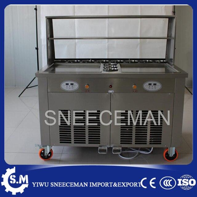 Eismaschinen  Handels gebraten eismaschine machen rolle eis friteuse Roll Roll ...
