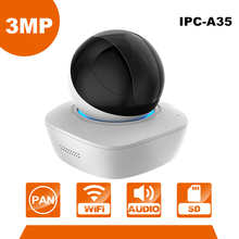 Dahua 3MP сети Wi-Fi PT камеры IPC-A35 встроенный микрофон и динамик, Micro SD карты монитор младенца высокой четкости (2304*1296)