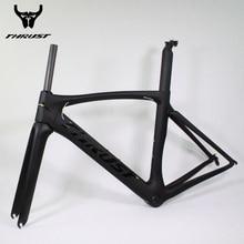 2016 new bicycle carbon road frame super light carbon road frame hot selling THRUST frame+fork+headset