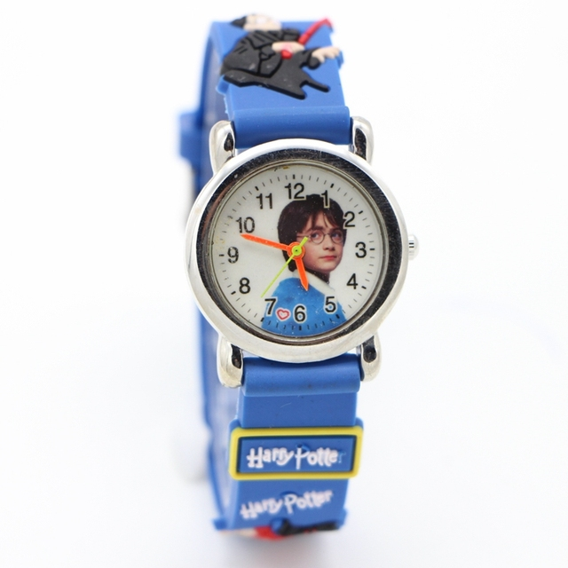 3D Cartoon Watch Children Kids Girls Boys Students fashion Quartz Wristwatches R