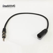 New 35cm Car Antenna Adapter Male To Female Vehicle AM / FM Radio Aerial Extension Cable(China)