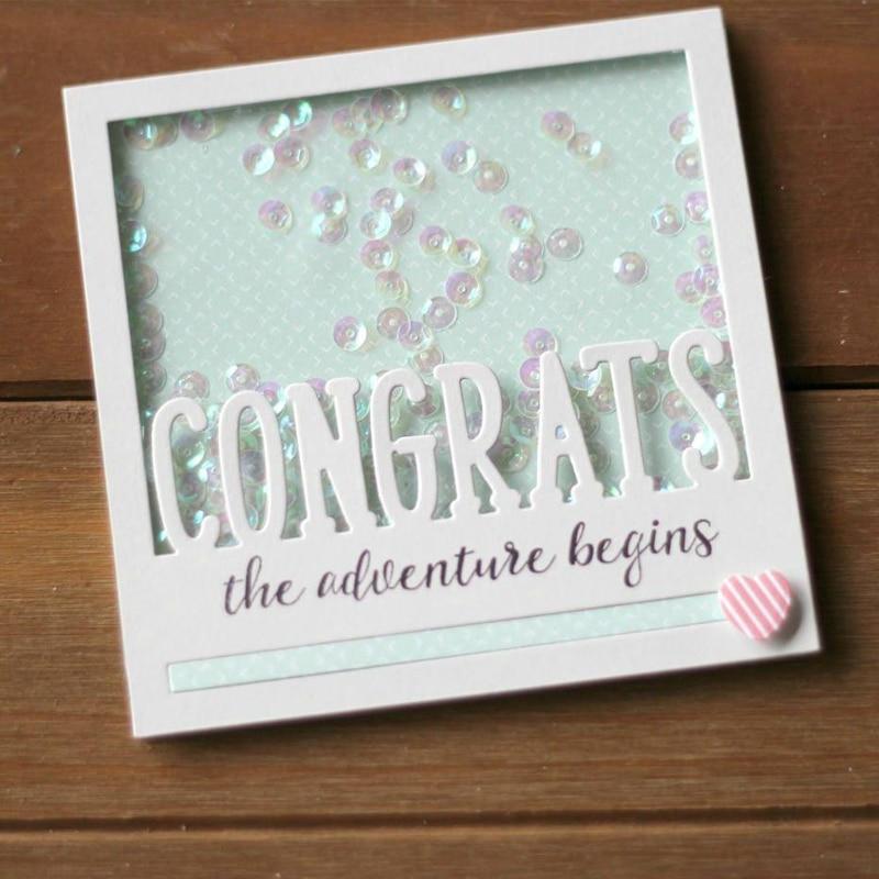 NEW /'Congratulations/' Cutting Die
