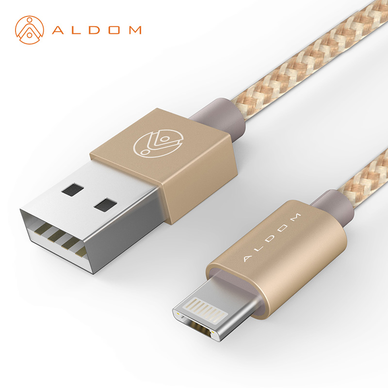 sports shoes 06a9f 97c42 US $7.17 |Aldom Cable Compatible with Android Micro USB and IOS 8 pin USB  Charger 2 in 1 USB Cable For iphone 5 5s 6 6s plus Samsung-in Mobile Phone  ...