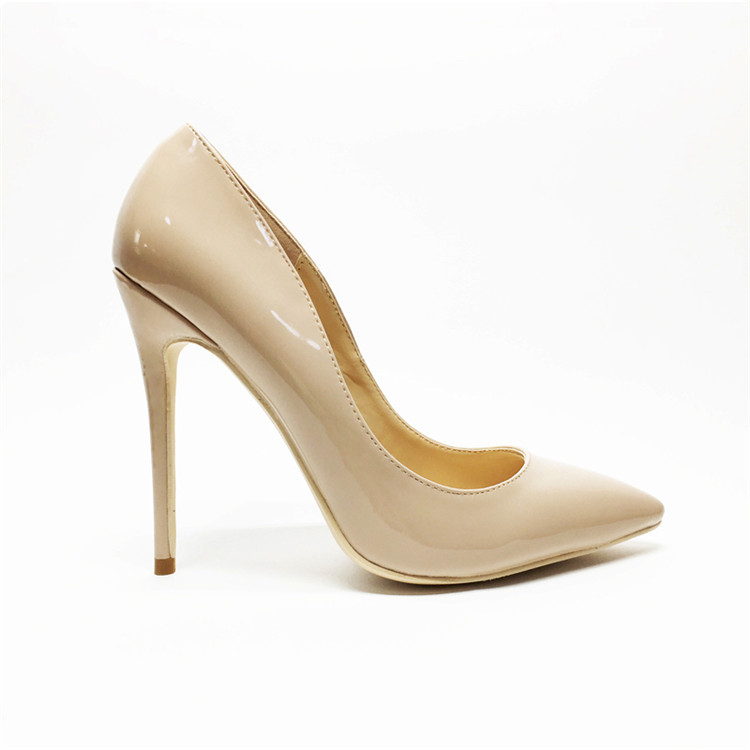 Sexy women thin high heels patent women pumps party shoes 3