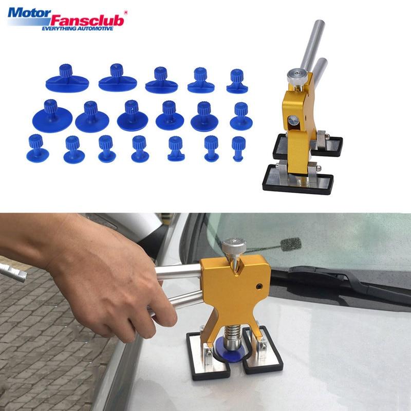 Yosoo Car Auto Tap Down Knockdown Tool Paintless Dent Repair Hail Removal Tools w//9 Heads
