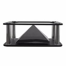 Nu Eye Pratique 3D Holographique Projecteur Pyramide 3D Bande Dessinée Présentoir Vitrine Boîte Approprié Pour 3.5-6 pouce Téléphones