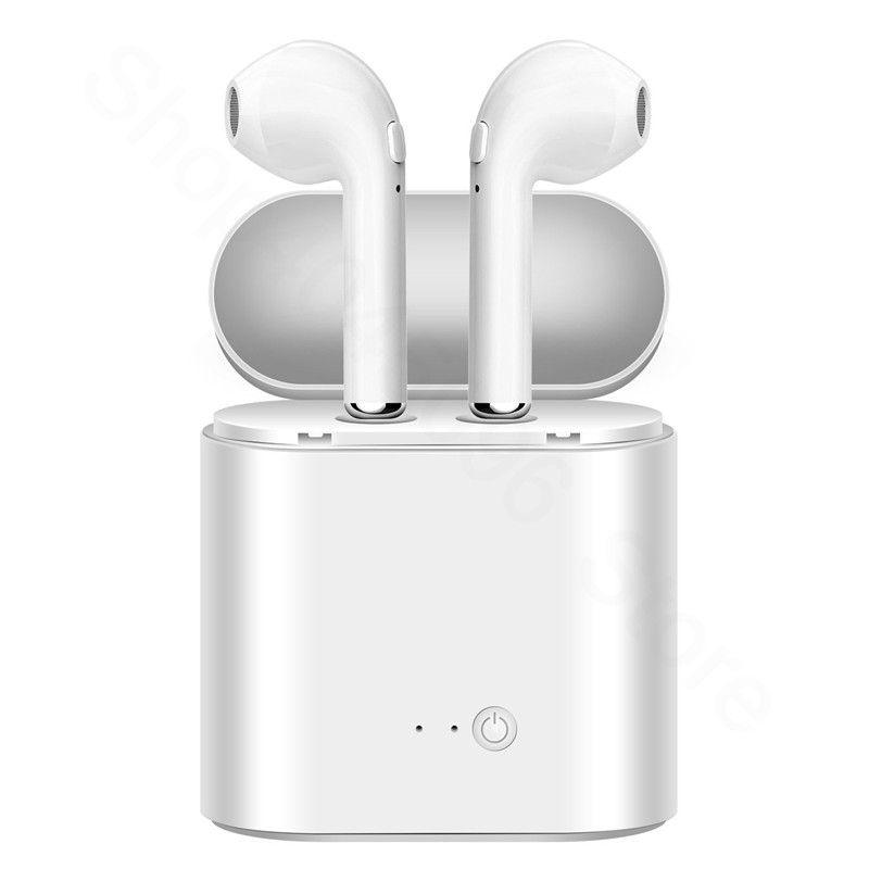 i7 i7s <font><b>TWS</b></font> Wireless Bluetooth Earphones In-Ear Music Earbuds Set Stereo Headset for iphone X 6 7 8 <font><b>10</b></font> 10S Samsung Xiaomi Huawei image