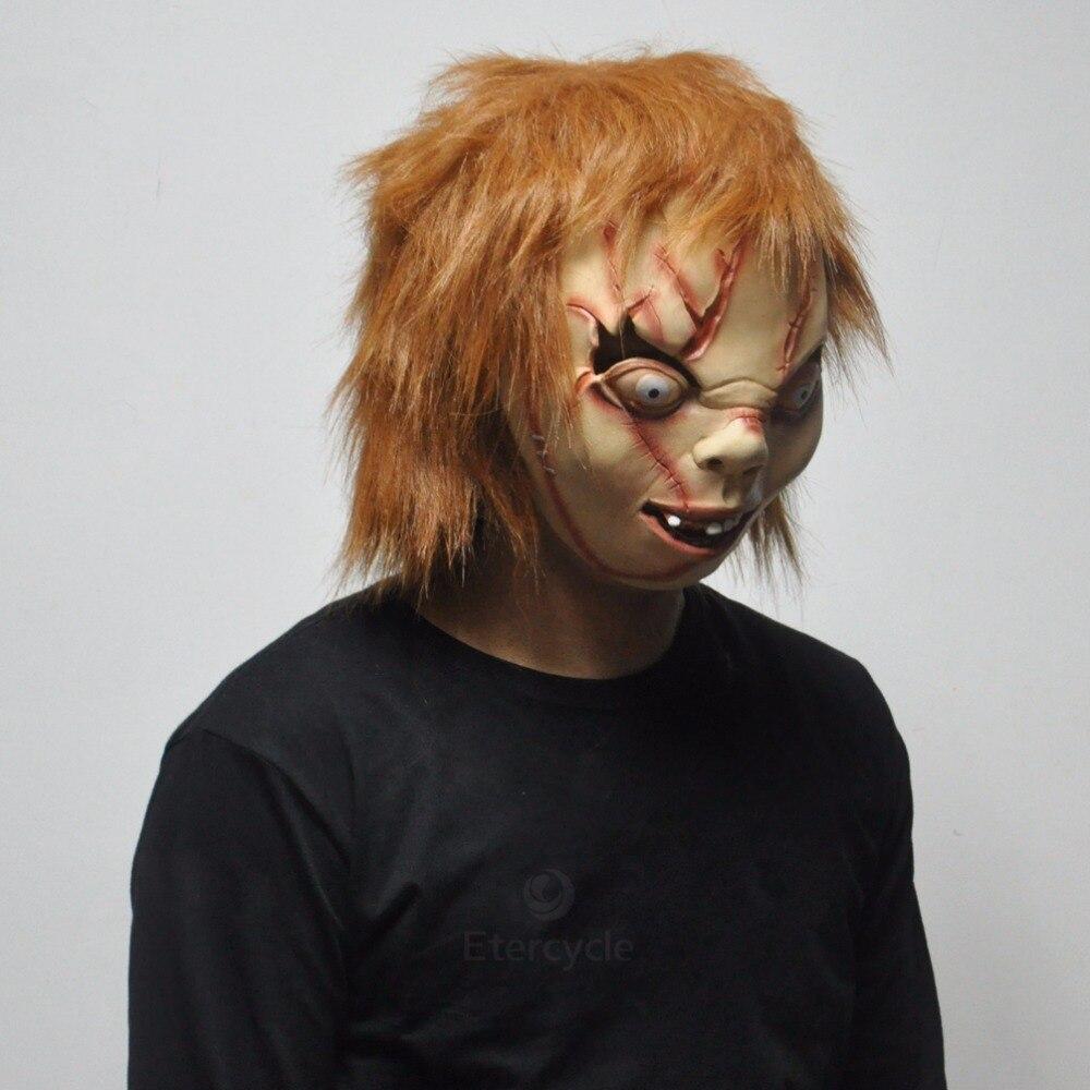 Aliexpress.com : Buy Scary Chucky Masks Halloween Adult Latex Mask ...