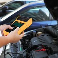 New 12V Car Battery Tester Digital Automotive Car Battery Load Tester Analyzer Test with Printer Multi language Analyzer Voltage