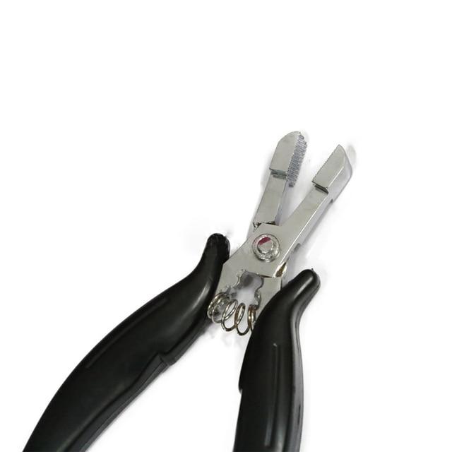 Multi Functional Hair Pliers Flat Tip Head Hair Extension Tools