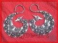 Phoenix Tribal Miao brincos de prata frete grátis