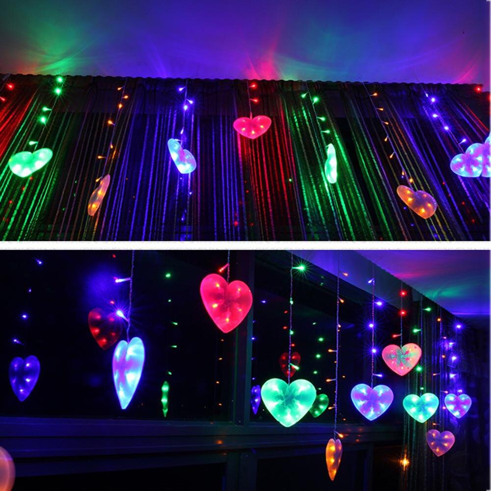 1.2-2.2M LED Flower Fairy Garden Party Christmas Decor Xmas String Lights Lamps