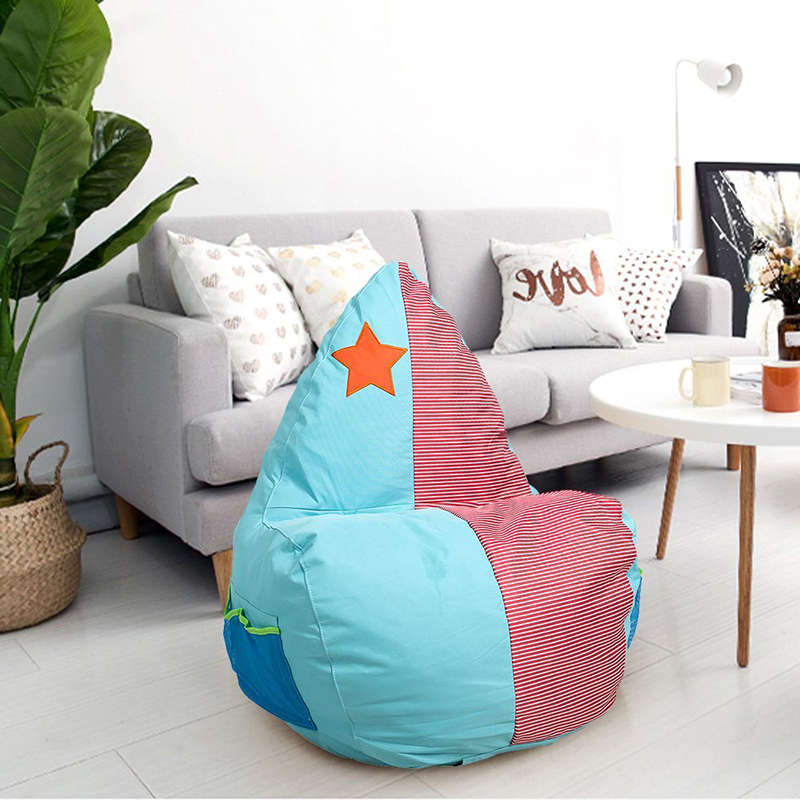 Classic Bean Bag Chair Cartoon Water Drop Sponge Child Seat Comfort Indoor Furniture Sofa Couch Sofa Chair Covers 3 Types konkord classic comfort 140x195x18