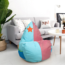 Classic Bean Bag Chair Cartoon Water Drop Sponge Child Seat Comfort Indoor Furniture Sofa Couch