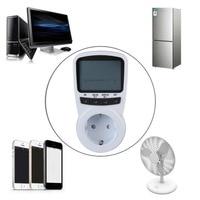 2016 vendita calda TS-1500 Contatore di Energia Elettronica Energy Monitor LCD Plug-in Contatore elettrico per la Spina di UE Monitor Elettronico energia